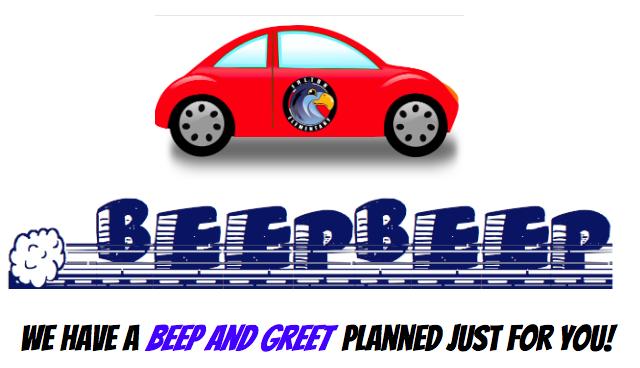Beep and Greet Image
